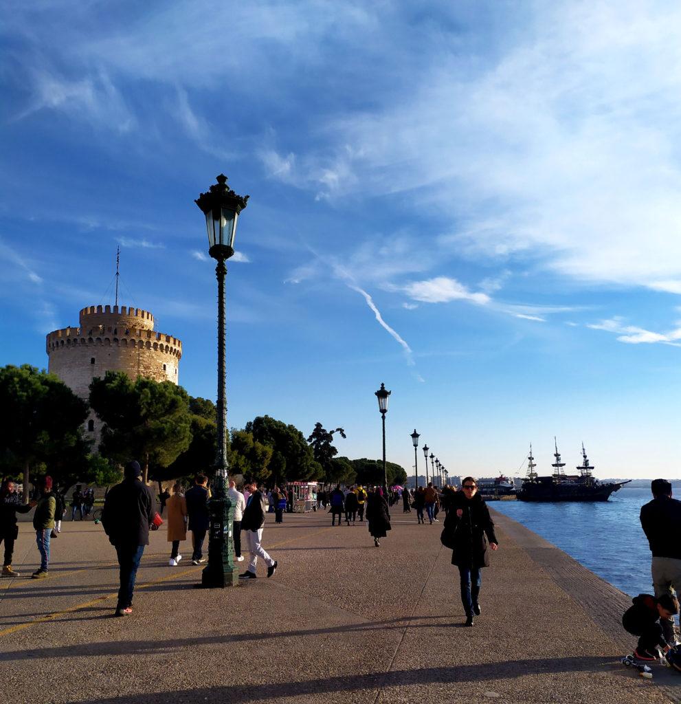 Cosa vedere a Salonicco: porto e torre bianca