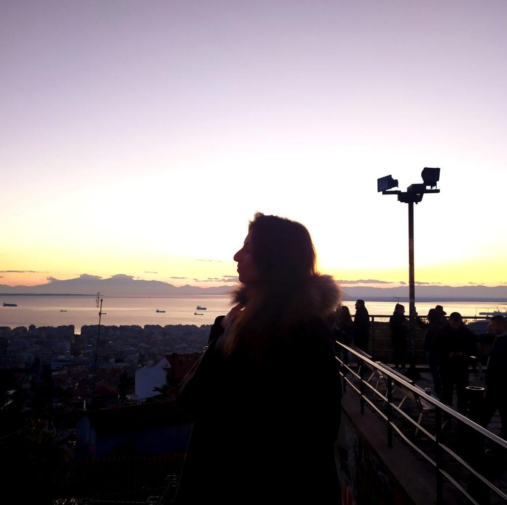 Cosa vedere a Salonicco: tramonto dal Trigonion